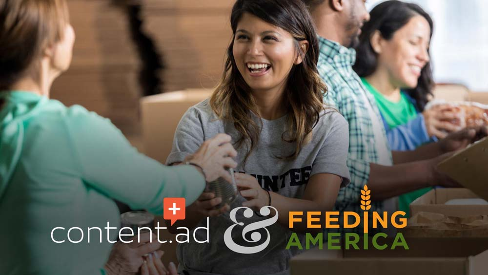 Content.ad Supports Feeding America